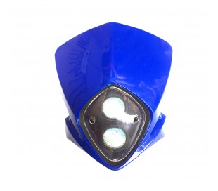 Careta con luz azul streetfighter