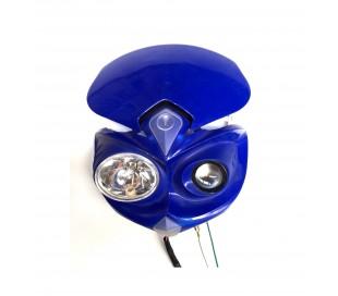 Careta con luz azul Halogeno
