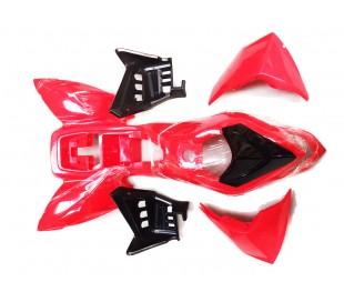 Plasticos ATV Quad 110cc Rojo