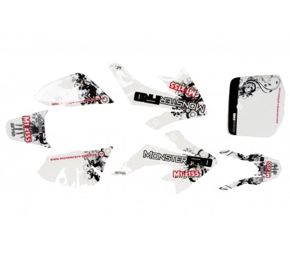 Sticker CRF50 2012 3M MonsterPRO M1