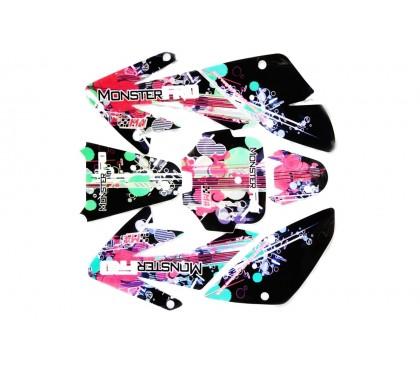 Sticker CRF70 2014 3M MonsterPRO M4