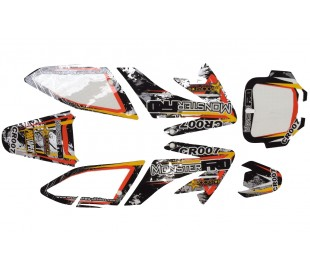 Pegatinas CRF70 rockstart 3M MonsterPRO CR007