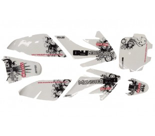 Sticker CRF70 2012 3M MonsterPRO M4