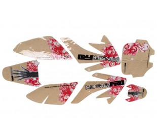 Sticker CRF70 2010 3M MonsterPRO M4