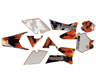 Sticker KTR 2014 3M MonsterPRO