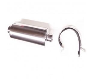 Muffler aluminiun standar