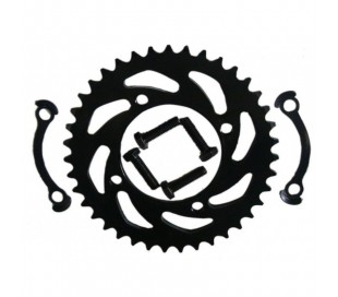 Steel rear sprocket 428