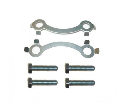 Retainers screw rear sprockets