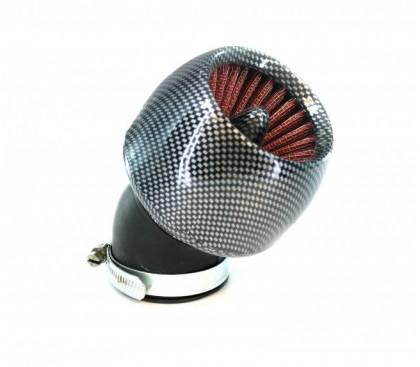 Air filter carbon