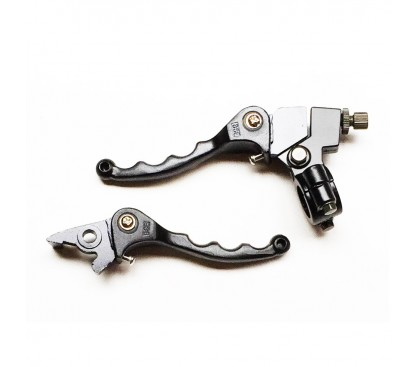 Articulated levers black BSE