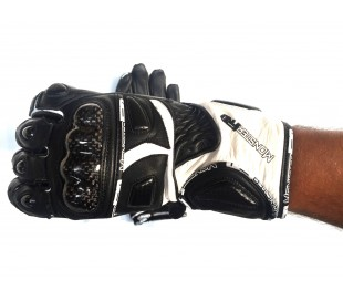 Leather gloves CARBON
