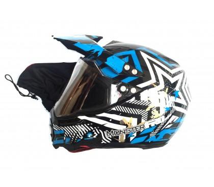 Adult helmet MonsterPRO MIX