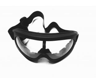 Gafas negras para casco