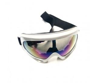 Gafas grises para casco