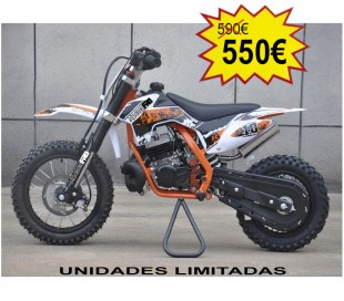 Mini cross MX50 2t 49cc Ruedas 12 10