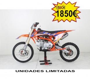 Pit cross SX190 DNM XL 21cv 5 velocidades ruedas 17 14