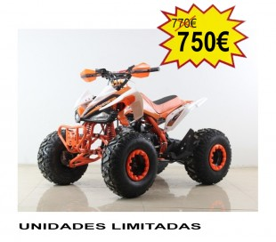 Atv Quad Super BIG food 430 125cc 4t con marchas 3 alante y 1 atras