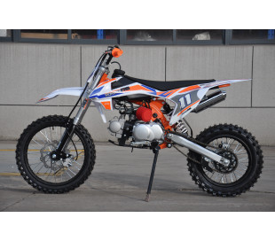 Pit cross MX125 4t 125cc Ruedas 14 17 EDAD RECOMENDADA desde 14 años