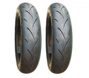 """Neumáticos 12"""" UNILLI PRO 120/80-12 ó 100/90-12"""